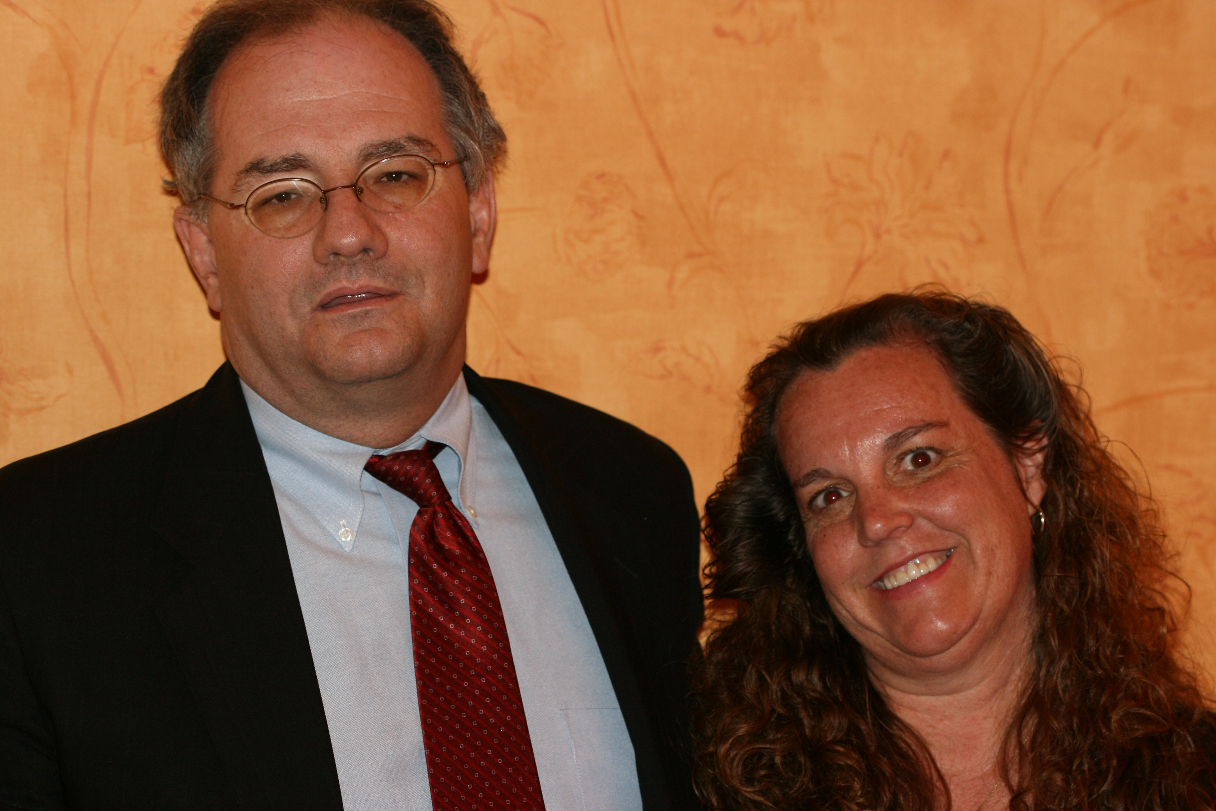 dr james w forsythe md here s a photo of dr forsythe s attorney kevin mirch his wife also an attorney who works him on every case